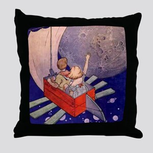 Magical Land of Noom Throw Pillow