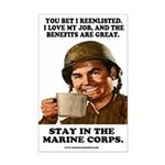 Mini Poster Print: You Bet I Reenlisted