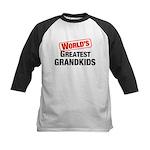 World's Greatest Grandkids Kids Baseball Jersey