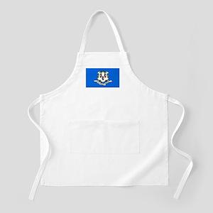 Connecticut Flag BBQ Apron