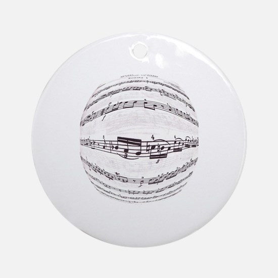 Unique Vivaldi Round Ornament