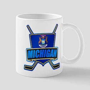 Michigan Hockey Shield Logo Mug