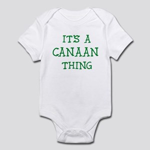 Canaan thing Infant Bodysuit