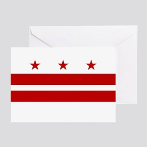 DC Flag Greeting Cards (Pk of 10)