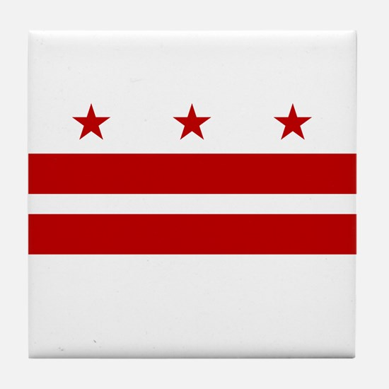 DC Flag Tile Coaster