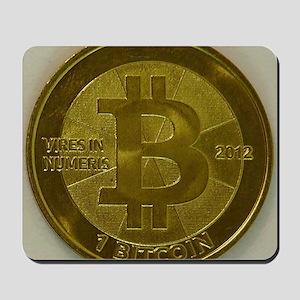 Casascius Bitcoin Mousepad