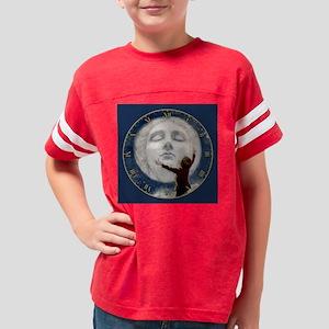 MOON CLOCK_1010300SLBLUE Youth Football Shirt
