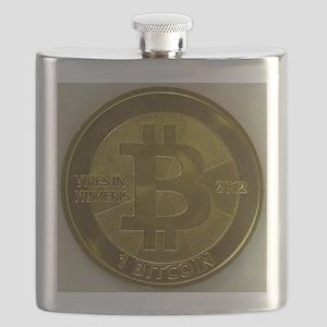 Casascius Bitcoin Flask
