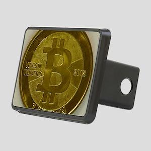 Casascius Bitcoin Rectangular Hitch Cover