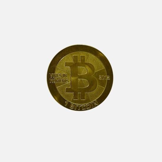 Casascius Bitcoin Mini Button