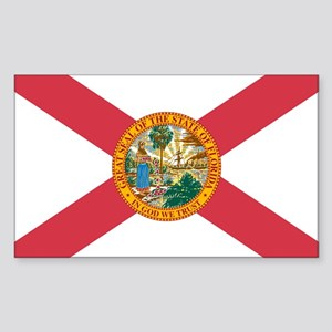 Florida Flag Rectangle Sticker