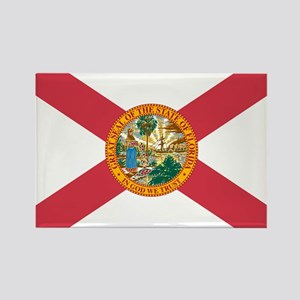 Florida Flag Rectangle Magnet