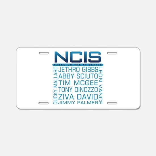 NCIS Logo Characters Names Aluminum License Plate