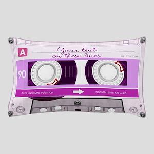 Cassette Tape - Pink Pillow Case