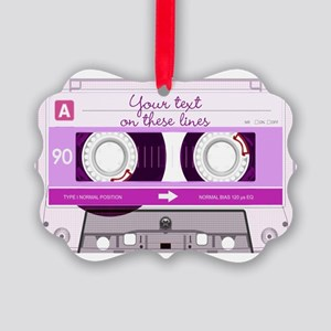 Cassette Tape - Pink Picture Ornament