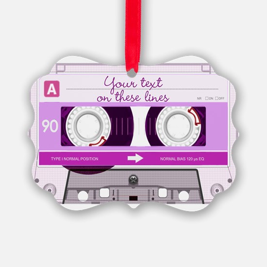 Cassette Tape - Pink Ornament
