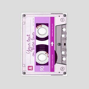 Cassette Tape - Pink 5'x7'Area Rug