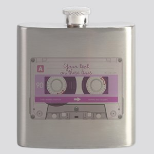 Cassette Tape - Pink Flask
