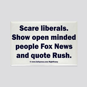 Scare Liberals Rectangle Magnet
