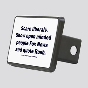 Scare Liberals Rectangular Hitch Cover