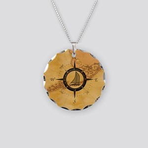 Key West Compass Rose Necklace