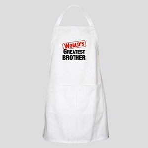 World's Greatest Brother BBQ Apron