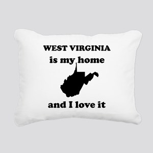 West Virginia Is My Home And I Love It Rectangular