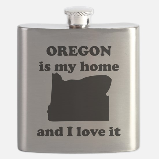 Oregon Is My Home And I Love It Flask