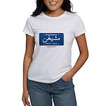 Michigan License Plate Women's T-Shirt