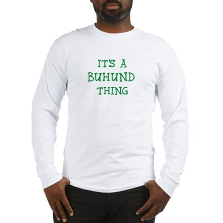 Buhund thing Long Sleeve T-Shirt