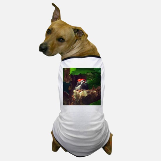 pileated woodpecker Dog T-Shirt
