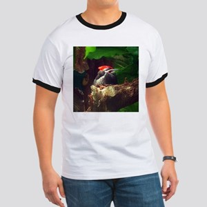 pileated woodpecker Ringer T