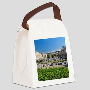 Piazza della Vittoria Canvas Lunch Bag