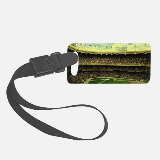 Vintage Sports Baseball Luggage Tag