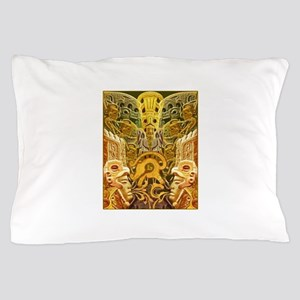 Tribal Gold Pillow Case