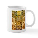 Tribal Gold Mug