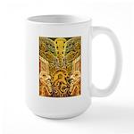 Tribal Gold Large Mug