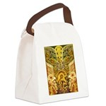Tribal Gold Canvas Lunch Bag