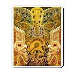 Tribal Gold Mousepad