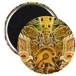 Tribal Gold Magnet