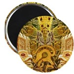 "Tribal Gold 2.25"" Magnet (100 pack)"