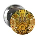 "Tribal Gold 2.25"" Button"