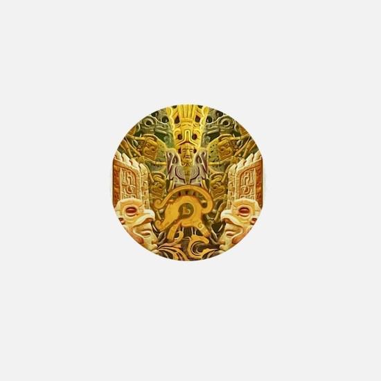 Tribal Gold Mini Button