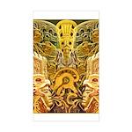Tribal Gold Sticker (Rectangle)