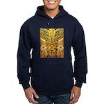 Tribal Gold Hoodie (dark)