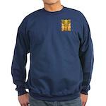 Tribal Gold Sweatshirt (dark)