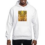Tribal Gold Hooded Sweatshirt