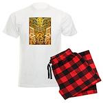 Tribal Gold Men's Light Pajamas