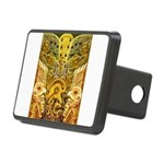 Tribal Gold Rectangular Hitch Cover