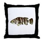 Goliath Grouper Throw Pillow